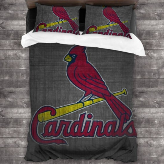 Bedding Sets with 3 Pieces MLB St. Louis Cardinals 3-Piece Bedding Set 86